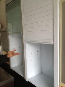 Ya es posible comprar en china persianas enrollables herrajes para muebles herrajes para - Persianas para muebles de cocina ...