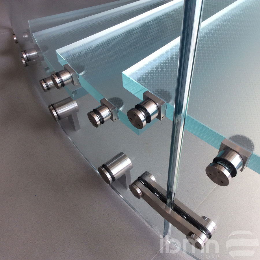 soportes vidrio cristal herrajes marquesinas muro cortina herrajes escaleras vidrio templado glass spider fitting overpanel connector sidelight glass swing door fittingclamp glass stairs handing wall mount spider