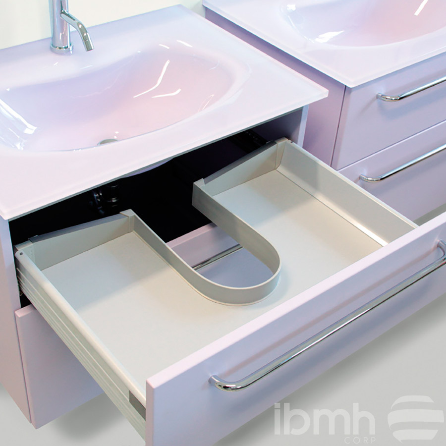 u shaped sink furniture cabinet