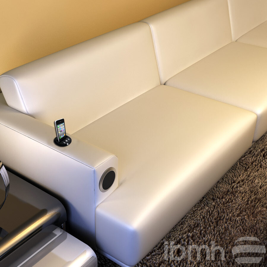 wireless charging sofa electronic devices