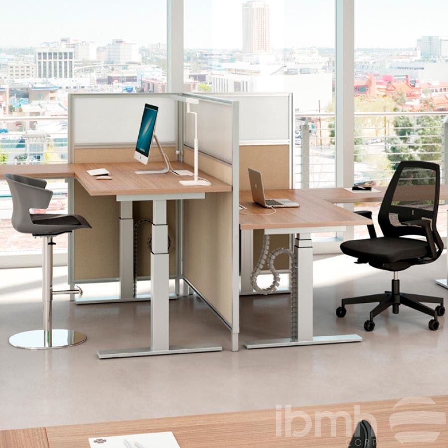 mesas regulables altura oficina electricas en herrajes telescopicas height adjustable tables electric office telescopic ta