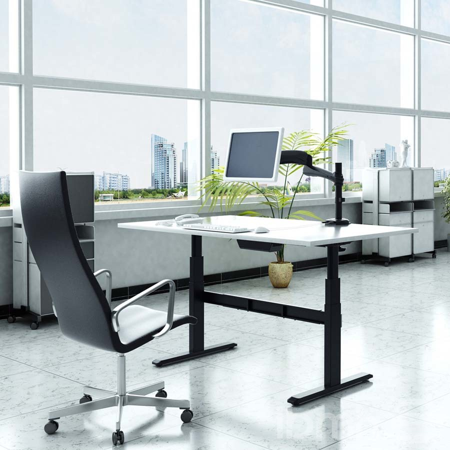 mesas regulables en altura oficina electricas herrajes telescopicas height adjustable tables electric office telescopic
