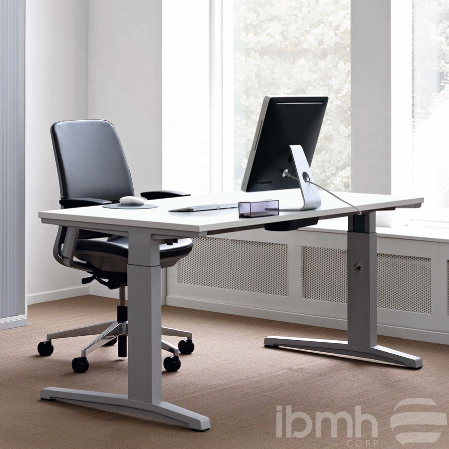 mesas regulables en altura oficina electricas herrajes telescopicas tables height adjustable electric office telescopic ta