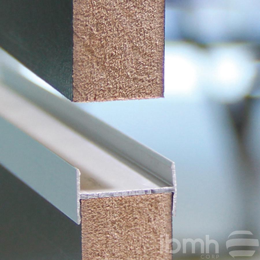 L neas de productos gestionados perfiles de aluminio para frentes de armario - Perfiles de aluminio para armarios ...
