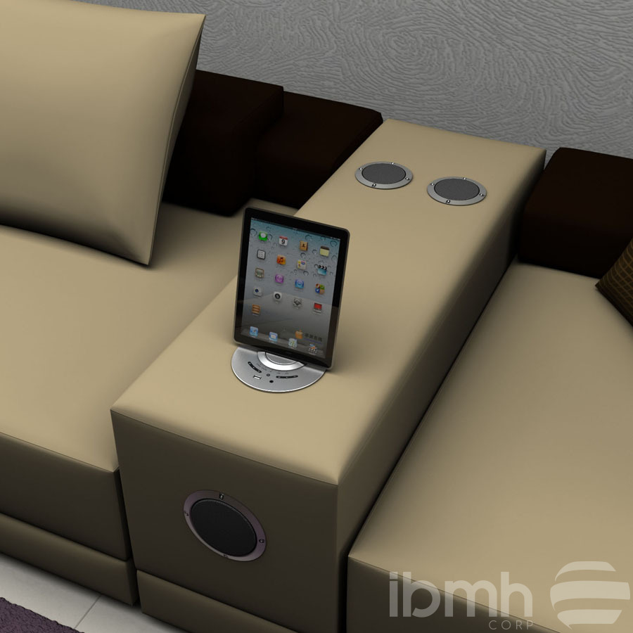 IMPORT FROM CHINA: Sofa Wireless Charging  Embedded Wireless Audio