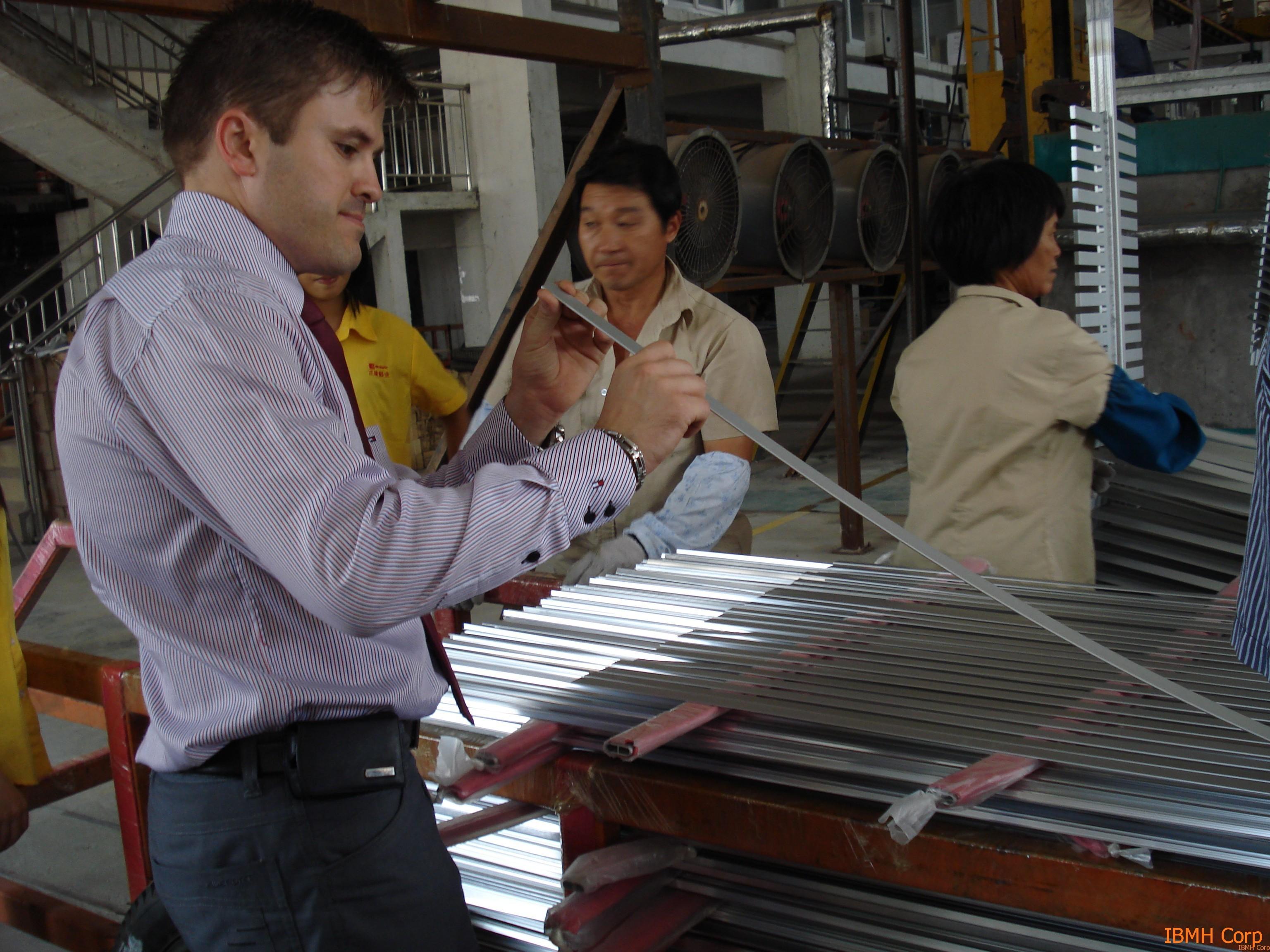 Comprar en China Herrajes en Aluminio de Calidad