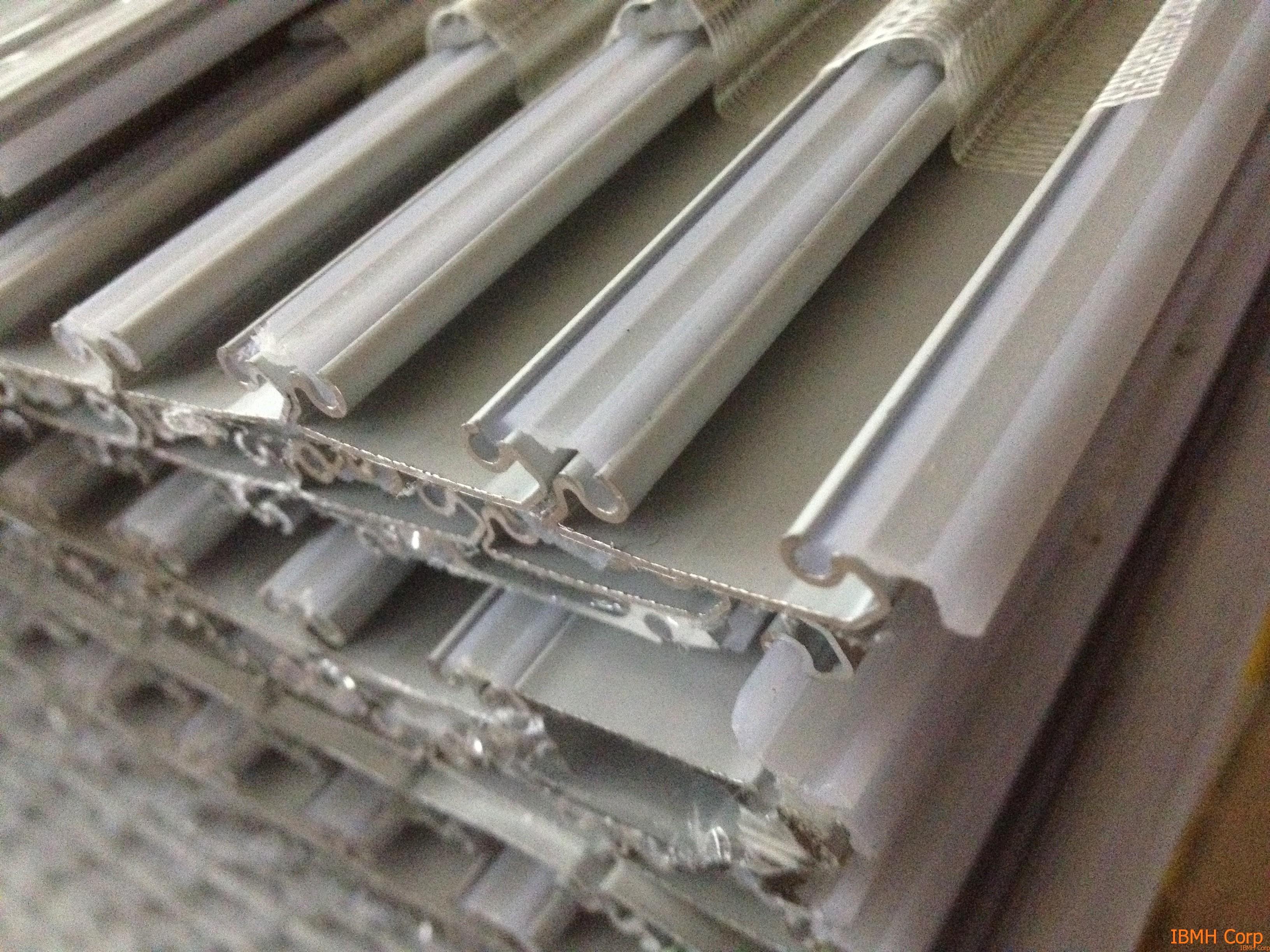 Detalle de las lamas de persianas en aluminio cortinas - Lamas persianas aluminio ...