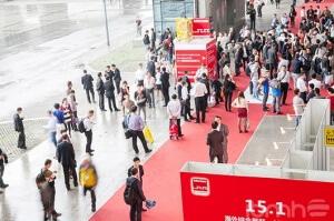 La Feria Interzum Guangzhou durante las jornadas de 2015
