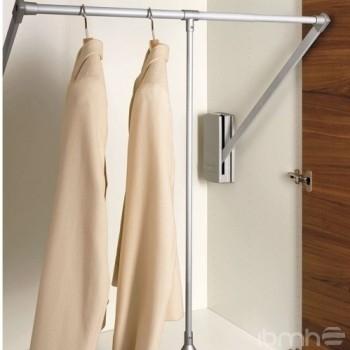 Tubo de armario elevable o barra de armario abatible - Barras de armario ...