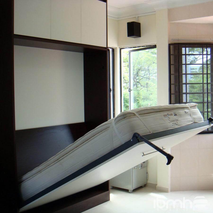 Herraje y complemento camas abatibles la cama abatible for Cama oculta mueble