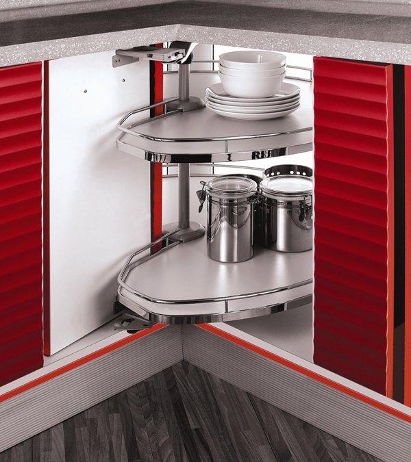 PRODUCTO DESTACADO: Herrajes Esquinero Revo para Muebles de Cocina en Esquina