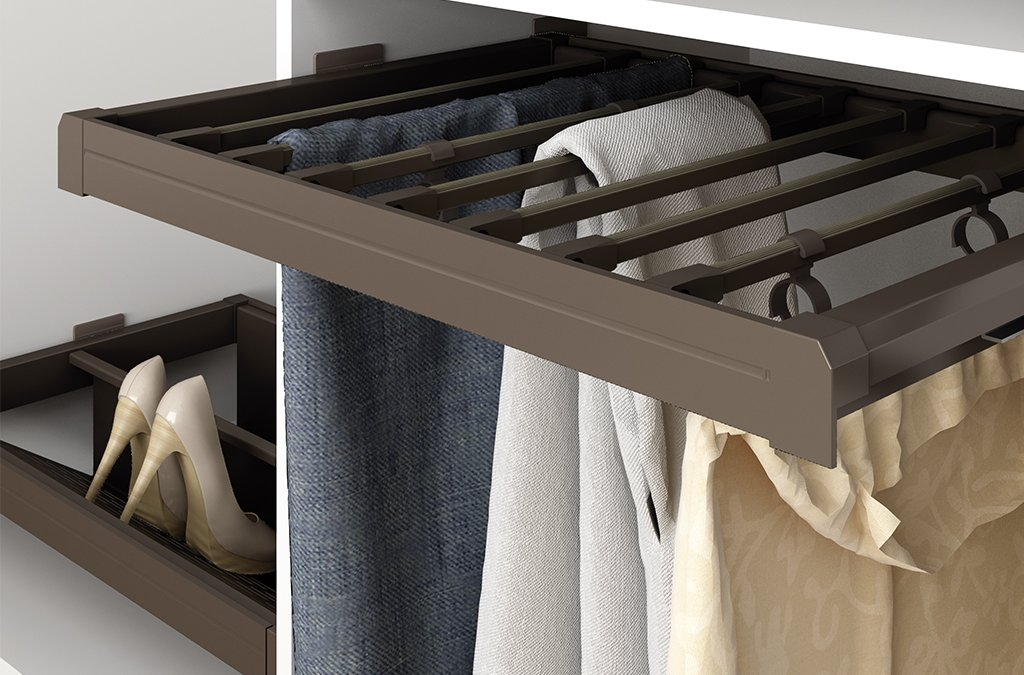 Featured Product: mocha closets and wardrobes furniture hardware