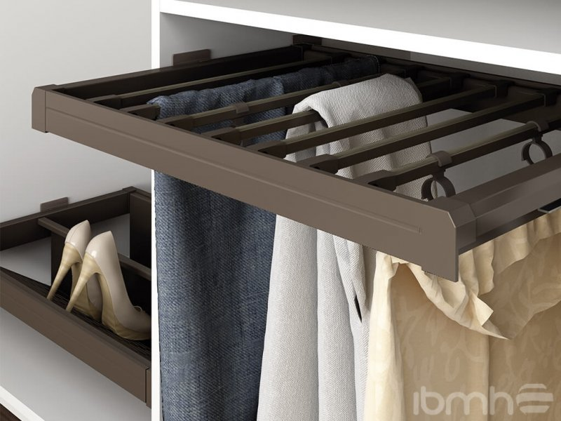 mocha closets and wardrobes furniture hardware