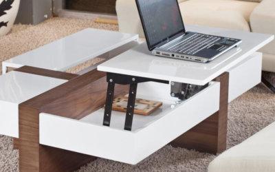 Producto destacado: herrajes elevables para mesas de centro