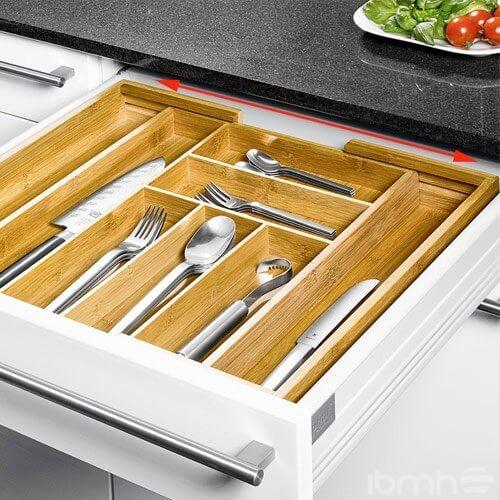 Cuberteros Y Accesorios De Cocina En Bamb El Material