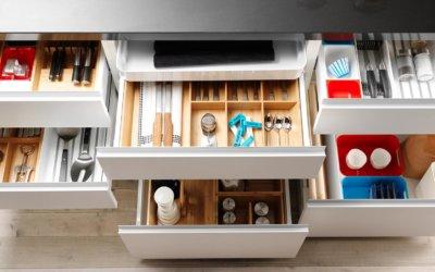Producto destacado: cuberteros y accesorios de cocina en bambú