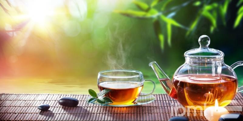 té de la mañana en Guangzhou
