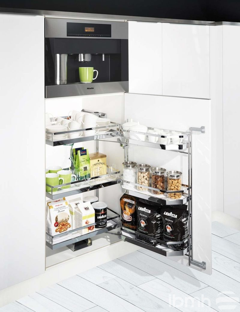 Have You Seen The New Tandem Type Pull Out Kitchen Hardware