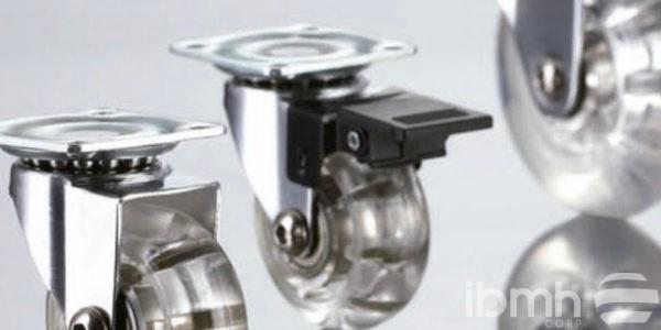 Modelo de ruedas para muebles