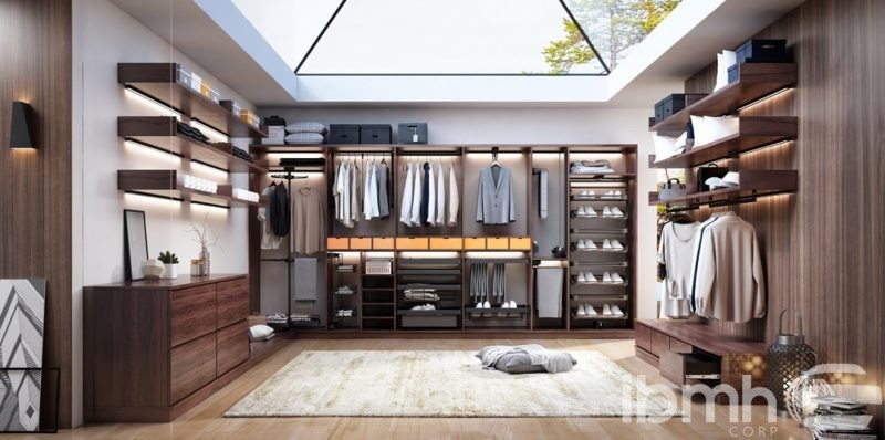 New Interior Design System specially for closets