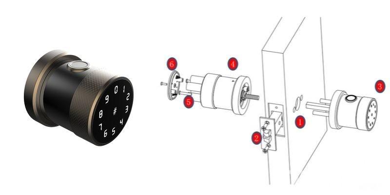 La Cerradura Cilíndrica Inteligente es el producto destacado de IBMH