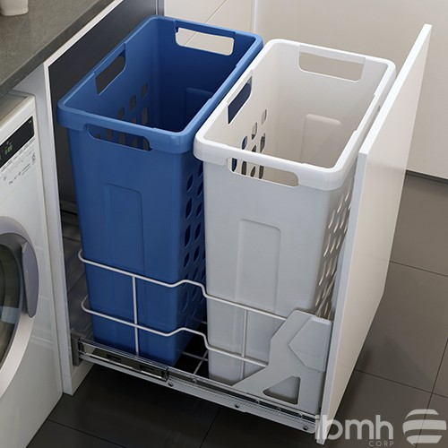 Removable laundry hampers, the perfect solution for the home