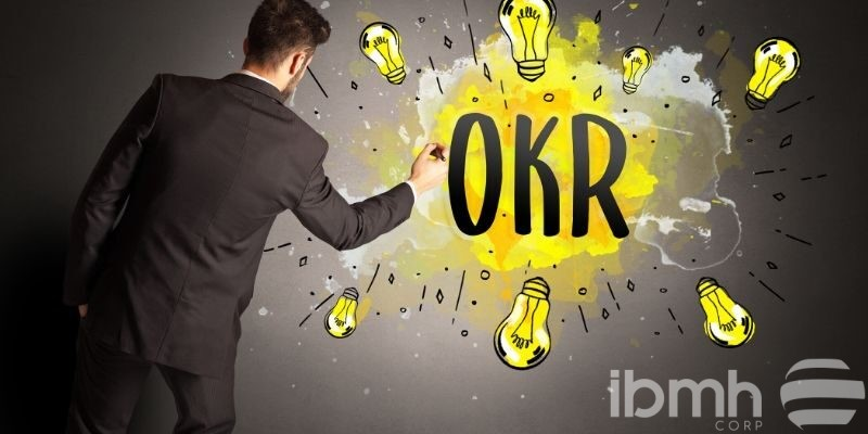 OKR's methodology or how large companies manage work