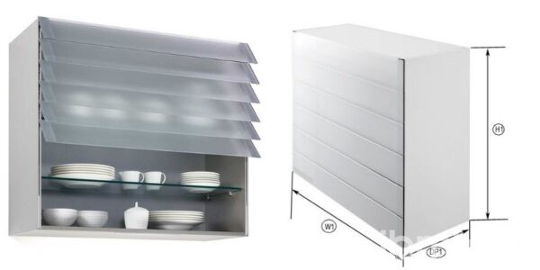 Find out the advantages of the Kitchen Cabinet with Smart Folding Door that you can import with IBMH