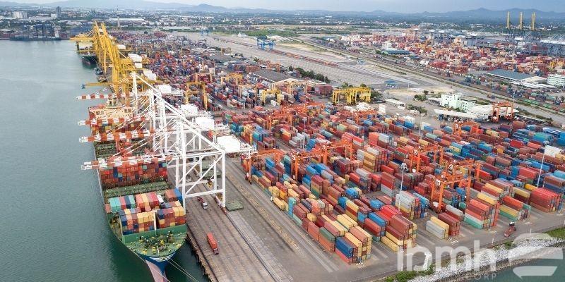 principales puertos de China