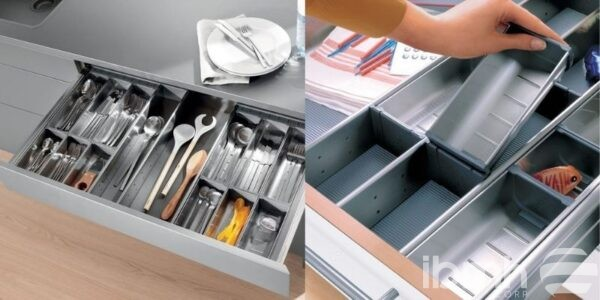 Stainless-steel cutlery tray, knows all its advantages