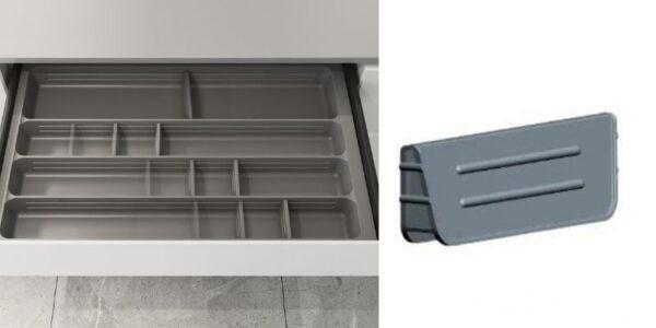 Cubertero Combinable con separadores Móviles IBMH